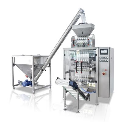 Multi-lane Granule packaging machine