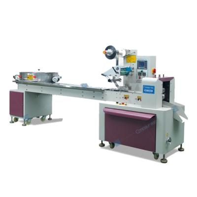 Flow candy packaging machine